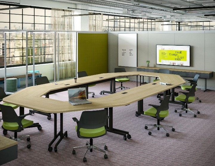 Knoll Education Synchronous Meeting Space